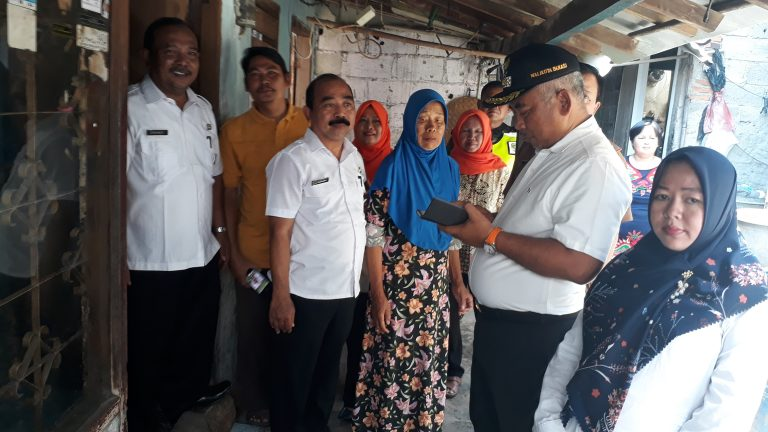 Wali Kota Galang Dana untuk Rumah Warga Harapan Jaya