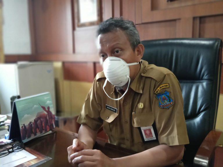 Pemkab Tanjabbar Gandeng UMKM Siapkan 10.000 Masker Kain Gratis