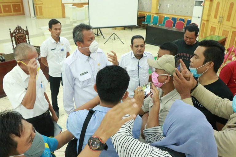 TAPD Belum Adakan Rapat ; Desakan Pengalihan Anggaran Pembangunan Gedung Banggar Ngambang
