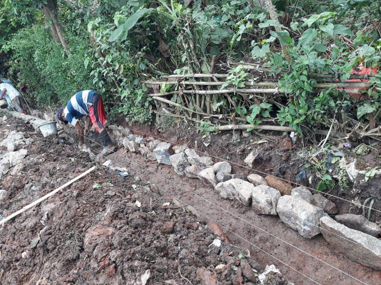 Proyek Drainase Desa Diduga Asal Jadi, Kades Asem Klaim Sudah Sesuai RAB