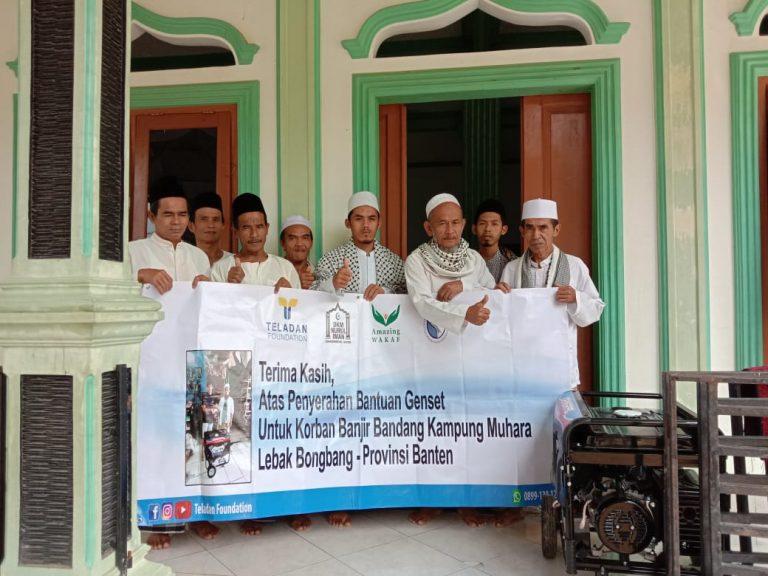 Sinergi Mentari Ilmu Charity dan Teladan Foundation Bantu Pulihkan Musholla Pasca Bencana Lebak Banten