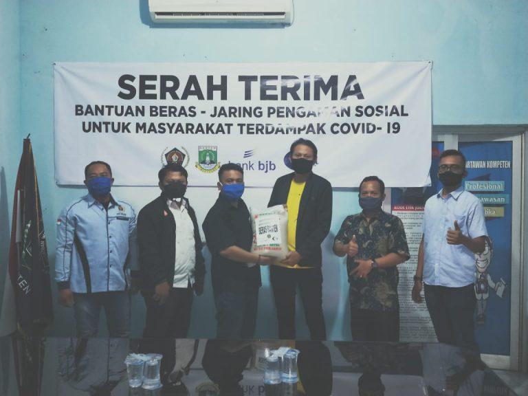 Rangkul PWI Banten, Forum CSR Salurkan 5 Ton Beras