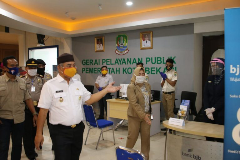 Walikota Bekasi Pastikan MPP Plaza Cibubur Siap Kembali Di Buka