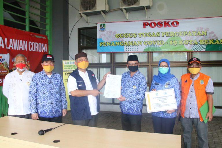 Wali Kota Terima Bantuan dari DP KORPRI Kota Bekas