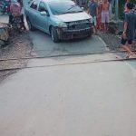 """Sedan """"Dicium"""" Kereta, Warga Bojongcae Minta Dishub Lebak Segera Tempatkan Petugas"""