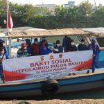Sambut Hari Bhayangkara, Ditpolairud Polda Banten Gelar Baksos