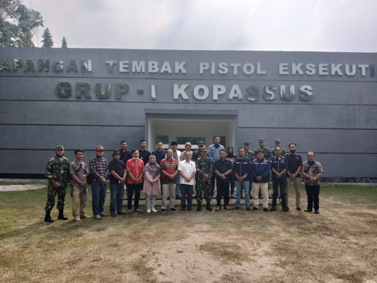 Dalam Rangka Penguatan Sinergi dan Kerjasama, Organisasi Pers Konstituen Dewan Pers, Sambangi Markas Komando Grup 1 Kopassus Serang