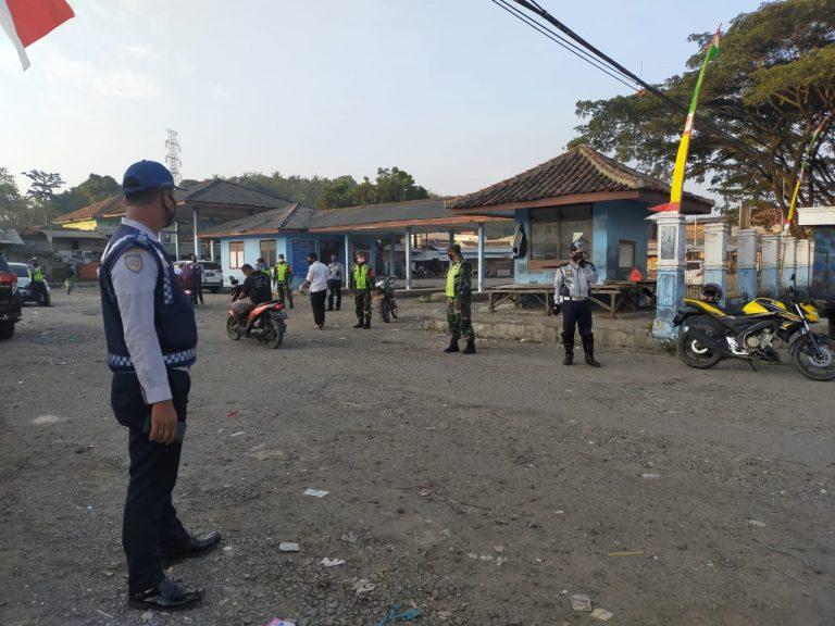 Tim Gugus Tugas Covid 19 di Kecamatan dan Kabupaten Bekasi Lebak Uji Coba Operasi pemberlakuan Perbup No. 28 Tahun 2020 Tahap ll
