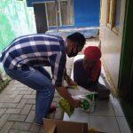 Haru Biru, Penyandang Disabilitas Menangis Saat Terima Sembako dari Kapolres Lebak