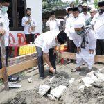 Bupati Asahan Lakukan Peletakan Batu Pertama Pembangunan Rumah Tahfiz Daarul Quran