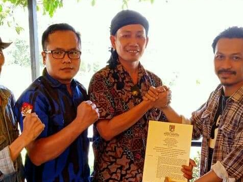 Ketua DPW Ormas Badak Banten Wilayah Banten Resmi Kantongi SK