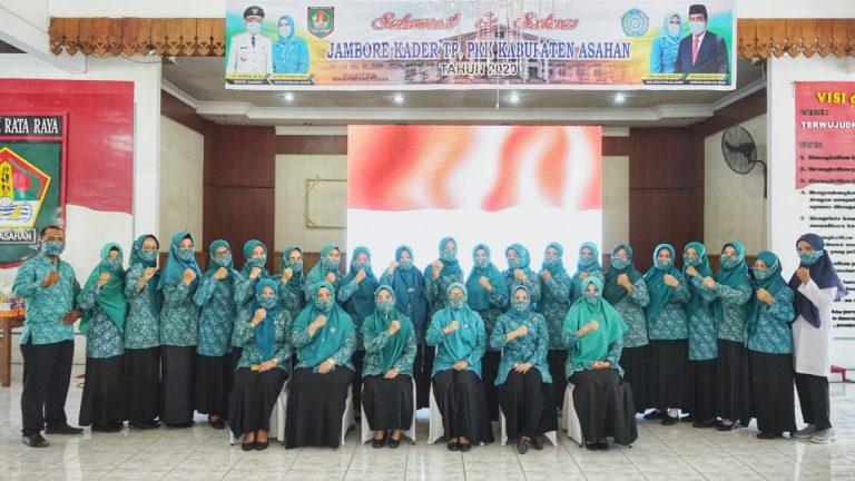Jambore Kader TP PKK Kabupaten Asahan Tahun 2020