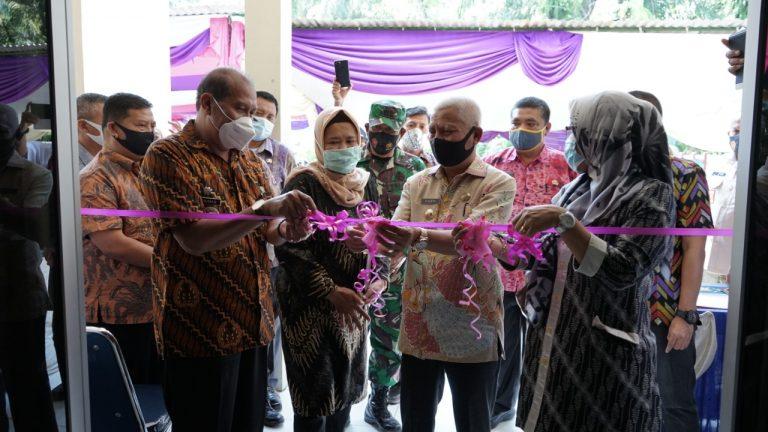 Bupati Asahan Buka Peresmian Puskesmas Huta Padang Kecamatan Bandar Pasir Mandoge