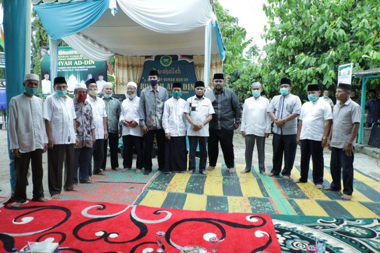 Bupati Asahan Resmikan Rumah Qur'an dan Taman Pendidikan Qur'an Roiyah Ad-din