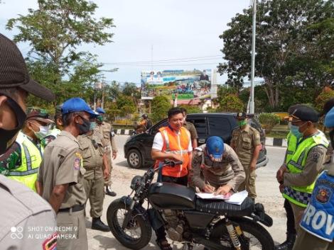 Terapkan Prokes, Tim Gabungan Aceh Singkil Gencar Operasi Yustisi