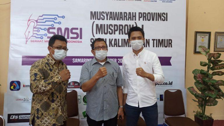 Raih Suara Mayoritas, Abdurrahman Amin Pimpin SMSI Kaltim