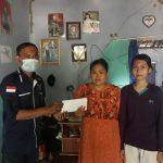 PWI Kabupaten Serang Salurkan Donasi Kepada Warga Penderita Kanker Mata