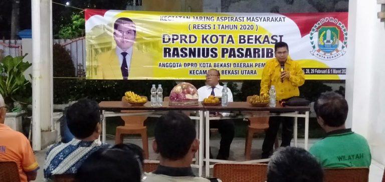 Anggota DPRD Kota Bekasi Gelar Reses Pertama Tahun 2020
