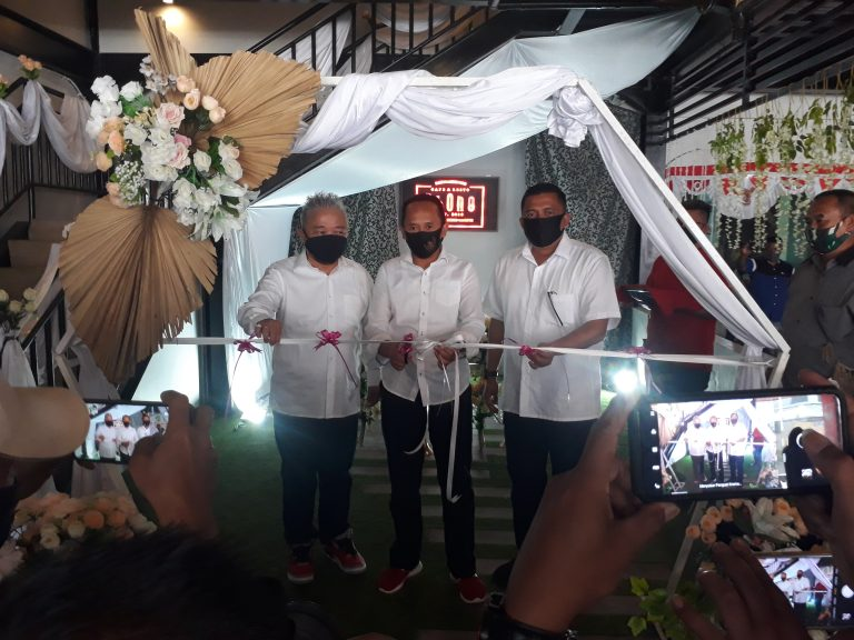 Wakil Bupati Lebak Launcing Cafe dan Resto Rb-One