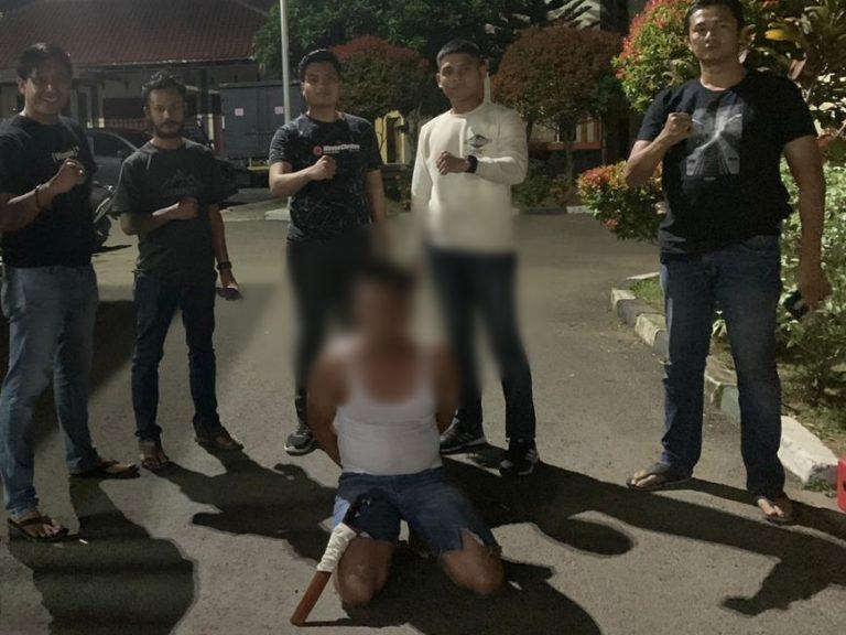 Oknum Anggota Mabuk, Lalu Lakukan Penganiayaan, Bawa Golok, Hingga Tabrak Motor dan Mobil di Depan RSUD Ajidarmo, DPW Badak Banten Usulkan Pemecatan