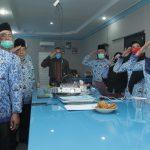 Dinas Kominfo Kabupaten Asahan Laksanakan Upacara Detik-Detik Proklamasi Kemerdekaan RI Ke-75